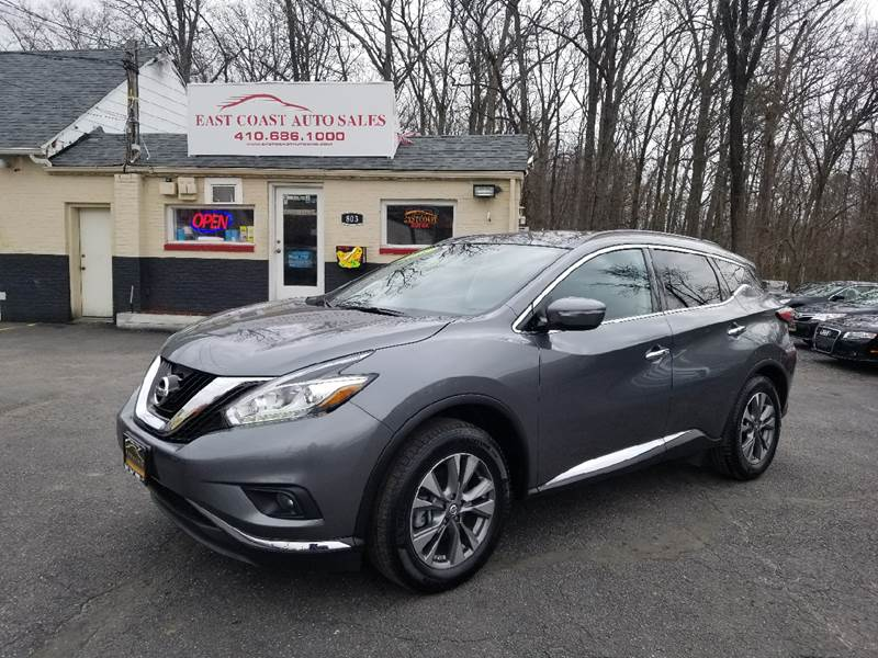 2015 Nissan Murano AWD SV 4dr SUV In Es MD - East Coast ...