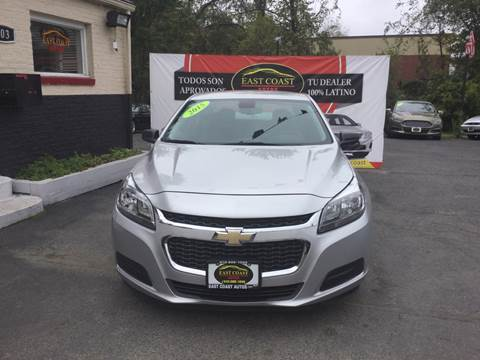 2015 Chevrolet Malibu for sale in Essex, MD