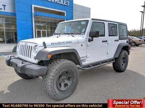 2017 Jeep Wrangler Unlimited for sale in Hattiesburg, MS