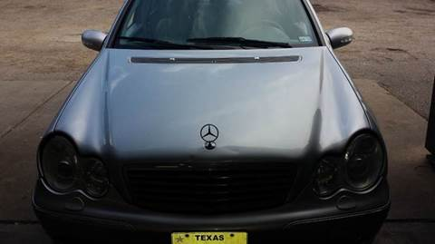 2003 Mercedes-Benz C-Class for sale at 4 Girls Auto Sales in Houston TX