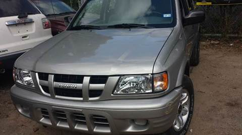 2004 Isuzu Rodeo for sale at 4 Girls Auto Sales in Houston TX