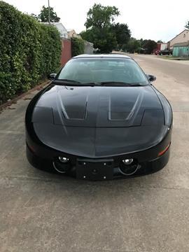 1997 Pontiac Firebird for sale in Houston, TX