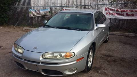 2002 Oldsmobile Aurora for sale at 4 Girls Auto Sales in Houston TX