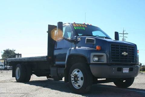 2005 Chevrolet C6500 DIESEL FLAT BED for sale in Kingsburg, CA