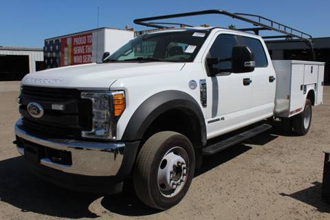2017 Ford F-550 Super Duty for sale in Kingsburg, CA