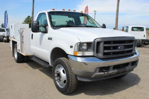 2004 Ford F-450 Super Duty for sale at Kingsburg Truck Center - Utility Trucks in Kingsburg CA