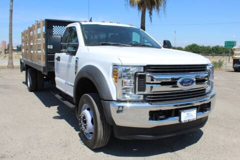 2018 Ford F-550 Super Duty for sale at Kingsburg Truck Center - Flatbed Trucks in Kingsburg CA