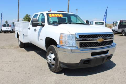 2011 Chevrolet Silverado 3500HD Work Truck for sale at Kingsburg Truck Center - Utility Trucks in Kingsburg CA