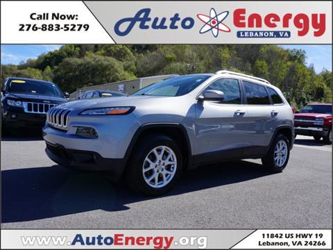 2014 Jeep Cherokee for sale in Lebanon, VA