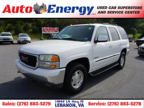 2004 GMC Yukon for sale in Lebanon, VA