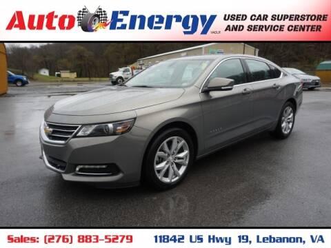 2019 Chevrolet Impala for sale at Auto Energy in Lebanon VA