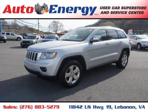 2011 Jeep Grand Cherokee for sale at Auto Energy in Lebanon VA