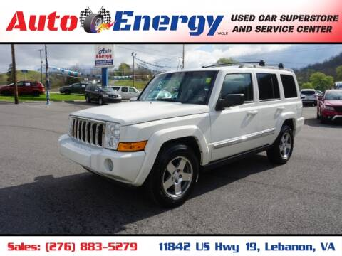 2010 Jeep Commander for sale at Auto Energy in Lebanon VA