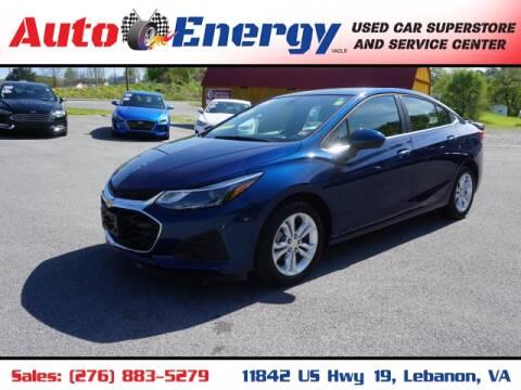 2019 Chevrolet Cruze for sale at Auto Energy in Lebanon VA