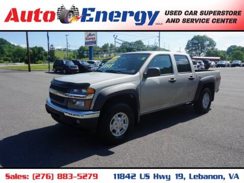 2006 Chevrolet Colorado for sale at Auto Energy in Lebanon VA