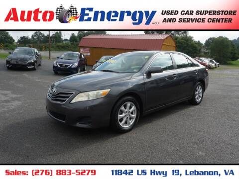 2011 Toyota Camry for sale at Auto Energy in Lebanon VA