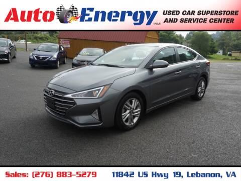 2019 Hyundai Elantra for sale at Auto Energy in Lebanon VA