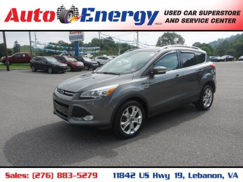 2014 Ford Escape for sale at Auto Energy in Lebanon VA