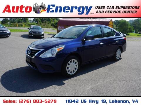 2019 Nissan Versa for sale at Auto Energy in Lebanon VA