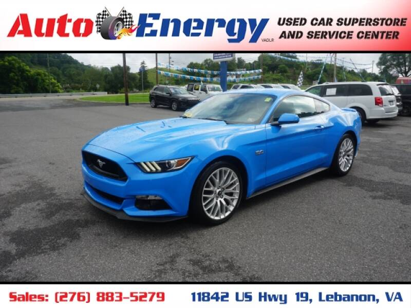2017 Ford Mustang for sale at Auto Energy in Lebanon VA
