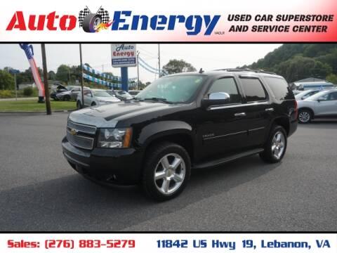 2013 Chevrolet Tahoe for sale at Auto Energy in Lebanon VA