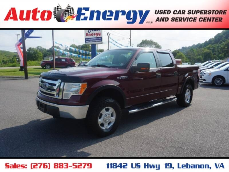 2010 Ford F-150 for sale at Auto Energy in Lebanon VA