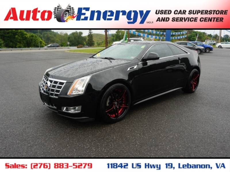 2014 Cadillac CTS for sale at Auto Energy in Lebanon VA