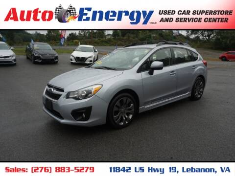 2013 Subaru Impreza for sale at Auto Energy in Lebanon VA
