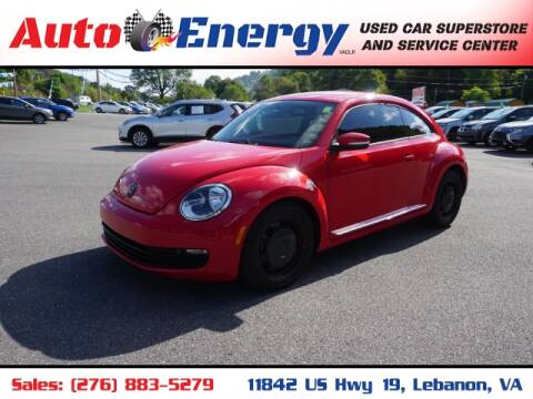2012 Volkswagen Beetle for sale at Auto Energy in Lebanon VA