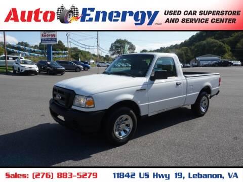 2011 Ford Ranger for sale at Auto Energy in Lebanon VA