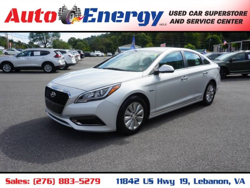 2016 Hyundai Sonata Hybrid for sale at Auto Energy in Lebanon VA