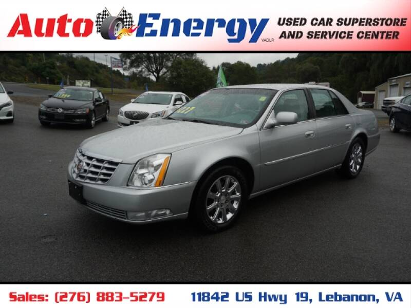 2010 Cadillac DTS for sale at Auto Energy in Lebanon VA