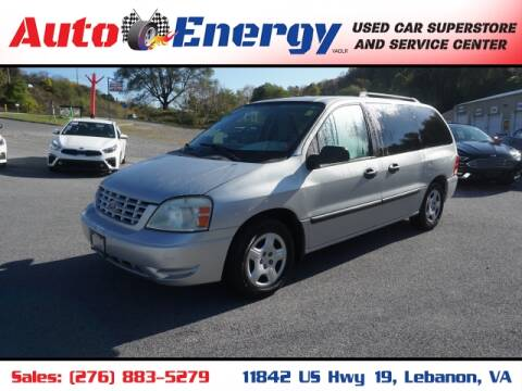 2007 Ford Freestar for sale at Auto Energy in Lebanon VA