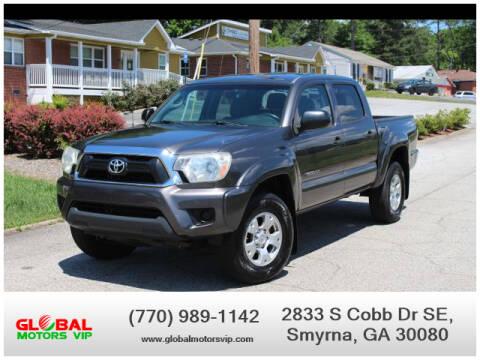 2013 Toyota Tacoma PreRunner for sale at GLOBAL MOTORS VIP in Smyrna GA