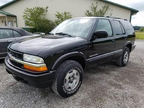 2003 Chevrolet Blazer for sale at ZumaMotors.com in Celina OH