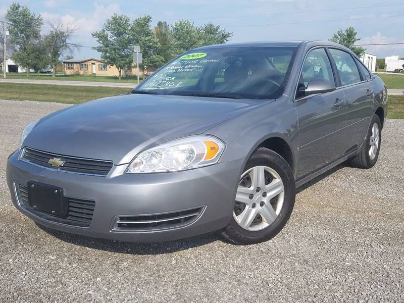 2007 Chevrolet Impala for sale at ZumaMotors.com in Celina OH