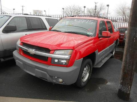 2002 Chevrolet Avalanche for sale at Nicks Auto Sales in Philadelphia PA