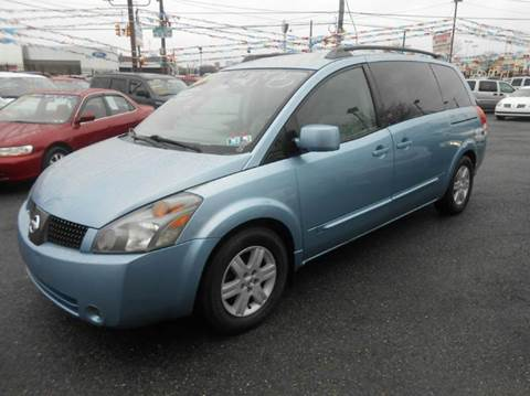 2004 Nissan Quest for sale at Nicks Auto Sales in Philadelphia PA