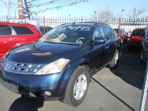 2004 Nissan Murano for sale at Nicks Auto Sales in Philadelphia PA