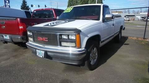 1988 GMC Sierra 1500 for sale in Eugene, OR