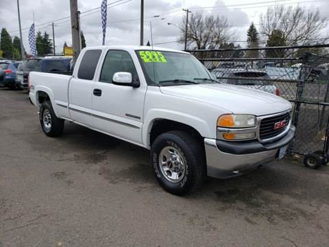 1999 GMC Sierra 2500 for sale in Eugene, OR