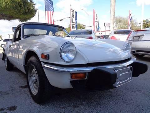 1978 Triumph SPITFIRE for sale in Hialeah, FL