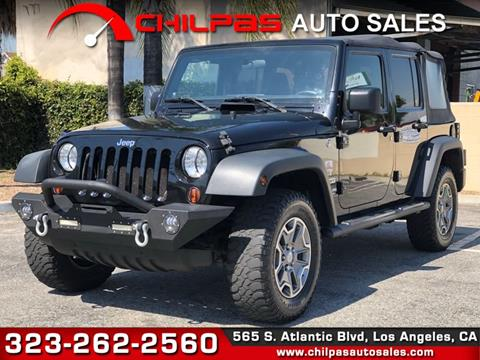 2011 Jeep Wrangler Unlimited for sale in Los Angeles, CA