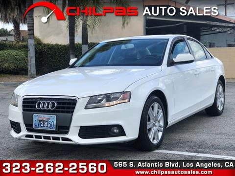 2010 Audi A4 for sale in Los Angeles, CA