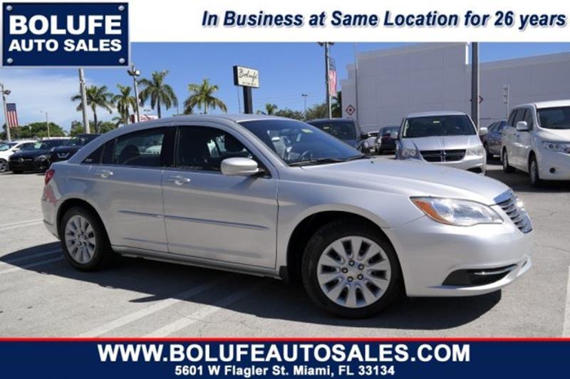 2012 Chrysler 200 LX 4dr Sedan In Miami FL  Bolufe Enterprises Inc