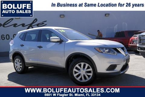 2016 Nissan Rogue for sale at Bolufe Auto Sales in Miami FL