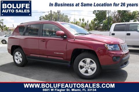 2016 Jeep Compass for sale at Bolufe Auto Sales in Miami FL