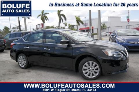 2016 Nissan Sentra for sale at Bolufe Auto Sales in Miami FL