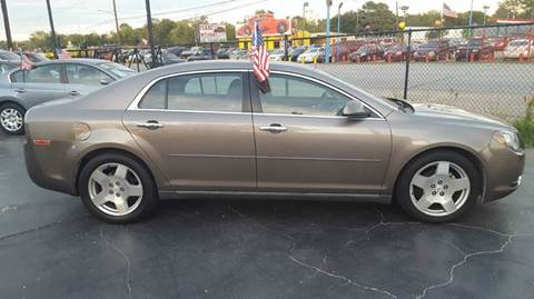 2012 Chevrolet Malibu for sale in South Houston TX