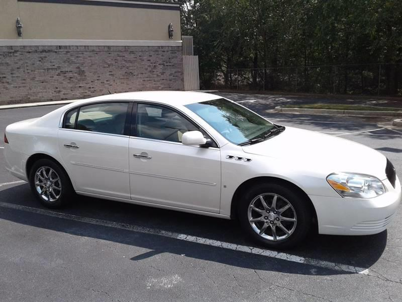 2008 Buick Lucerne for sale at JCW AUTO BROKERS in Douglasville GA
